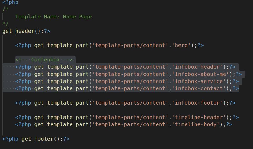 HomePage Source Code
